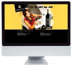 www.carlettowines.com: pagina web ideata per Carletto Wines del gruppo Candoni