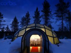 Amazing Hotel and Igloo Village Kakslauttanen | http://www.modernhomeinteriordesign.com/amazing-hotel-igloo-village-kakslauttanen/