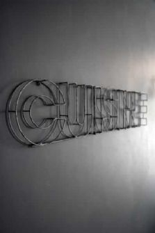 CUISINE Metal Sign