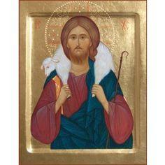 Good Shepherd 16×21 cm, to order. #CatalogOfGoodDeed #icon #jesus #christ #buy #order #online #God #SonofGod #christianity #prayer #Lord #Pantocrator #orthodoxy #church #handpainted http://catalog.obitel-minsk.com/ministry