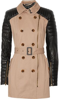 Shop on-sale by Walter Baker Keanu quilted faux leather and cotton trench coat. Browse other discount designer Coats & more on The Most Fashionable Fashion Outlet, THE OUTNET. Beige Trenchcoat, Beige Coat, Jonathan Saunders, Faux Coat, Mantel Beige, Zara, Leather Trench Coat, Leather Coats, Walter Baker