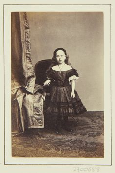 Princess Beatrice, October 1862 [in Portraits of Royal Children Vol.6 1862-1863] | Royal Collection Trust