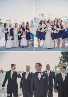 Long Beach Yacht Club, Long Beach | Los Angeles Wedding Photography | Harbor Marina Boating Yacht Wedding
