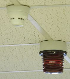 XFL Stobe Beacon as part of a fire alarm system