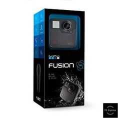 Sponsored GoPro Fusion 360 Waterproof Digital Camera with Spherical Video - 360 Camera - Ideas of 360 Camera - Sponsored GoPro Fusion 360 Waterproof Digital Camera with Spherical Video Gopro Camera, Video Camera, Go Pro Cam, Fusion 360, Stitch Lines, Audio In, Camcorder, Sd Card, Ipad Mini