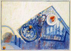 Works on Paper - Margaret Moir Southwell Woodward - Australian Art Auction Records Painted Boards, David Hockney, Joan Miro, Australian Artists, Life Inspiration, Art Auction, Les Oeuvres, Still Life, Photo Art