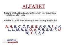 Znalezione obrazy dla zapytania samogłoski w języku polskim