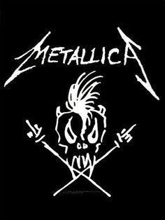 Metallica Tattoo, Metallica Art, Metallica Shirts, Metallica Funny, Metallica Black, Music Love, Rock Music, Hard Rock, Rock Argentino