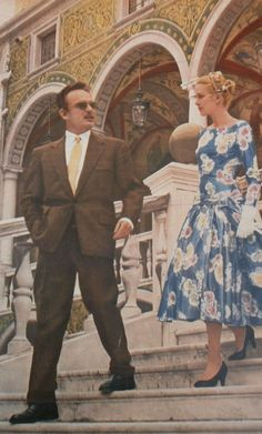 A very historic moment — Grace Kelly and Rainier of Monaco's first meeting in 1955
