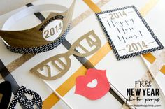 Last Minute New Year's Eve Decoration - A&D Blog