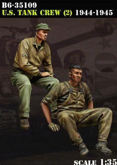 US Tank Crew (2) 1944-45