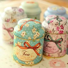 Cheap organizer container, Buy Quality candy storage box directly from China tin box Suppliers: CUSHAWFAMILY Europe type style Tea caddy receive box candy storage box wedding favor tin box cable organizer container household Tea Canisters, Tea Tins, Tea Caddy, Vintage Tea, Vintage Floral, Gift Boxes Wholesale, Buy Wholesale, Tea Container, Coffee Tin