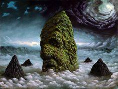 Fullvio de Piazza e suas pinturas magníficas com base em seu surrealismo único. (2)