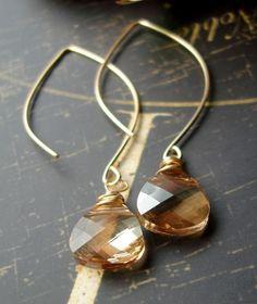 teardrop jewelry just catches my eye