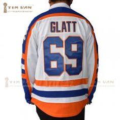 "Tim Van Steenberge Doug ""the Thug"" Glatt 69 Goon Movie Halifax Highlanders Hockey Jersey New Stitched Sewn-White Highlanders, Ice Hockey, Van, Stitch, Sewing, Movies, Things To Sell, Tops, Smooth"