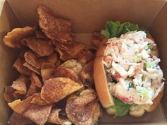 The lobster roll ($14.95) at Harry's Fish Market + Grill at Wilmington's Riverfront Market is a somewhat smaller version of the lobster roll served at its sister operation, Harry's Seafood Grill. The lobster comes from Maine. (Photo: Patricia Talorico/The News Journal)