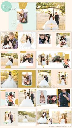Photoshop album designs - Birdesign photo album - wedding album