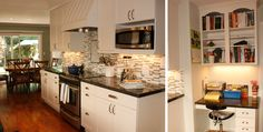Love the cabinets, counter tops and back splash color combination