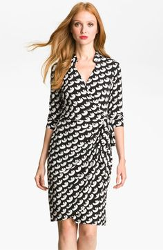 Maggy London Print Jersey Wrap Dress available at #Nordstrom