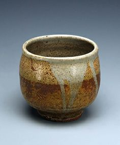 Yunomi, ca. 1980, Warren Mac Kenzie, stoneware and glaze, 3 1/2 x 3 3/4 in. (8.9 x 9.6 cm) diam., Smithsonian American Art Museum, Gift from the collection of Michael Peter Giza, 1998.55.3
