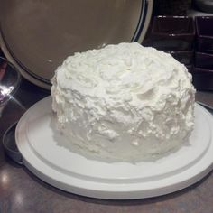 This has been my signature cake for thirty plus years. It is the EXPECTED cake that I have to bring to all social gatherings. It was given to me by a co-worker; I do not know the origin of recipe. It is a great 'make-ahead-of-time' dessert for any time of the year and you will get nothing but rave reviews.