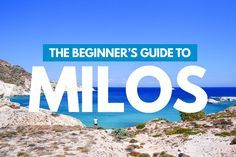 Looking for the best places to eat, play and stay in Milos? You won't want to miss this Travel Guide to the Greek Island of Milos, Greece.