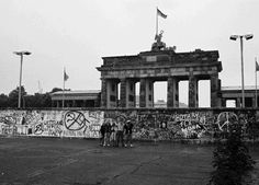 When this picture of the Brandenburg Gate was taken in June 1989, most people didn't expect the Wall to fall in their lifetime. Five months later, people were dancing on it.