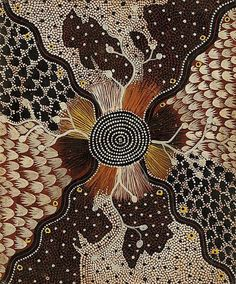 Kaapa Tjampitjinpa - Wild Potato 1975 61 x 50 cm Aboriginal Dot Painting, Aboriginal Artists, Indigenous Australian Art, Indigenous Art, Art Du Monde, Wow Art, Art For Art Sake, Native Art, Art Market