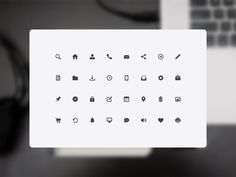 32 Free Icons #icon #icons #freebie