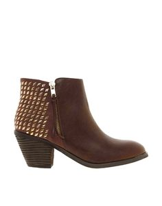Image 1 of Blink Cuban Heel Boot with Studs