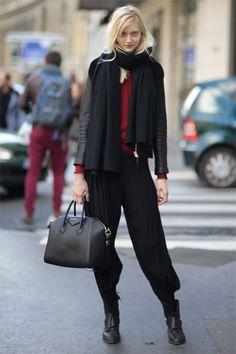 Paris Fashion Week Street Style Fall/Winter 2014 #Streetstyle #PFW #NatyaKusakina