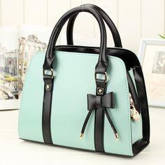 2013 fashion bow sweet gentlewomen handbag women's handbag new arrival shoulder bag messenger bag-inMessenger Bags from Luggage & Bags on Al...