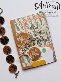 Mum's love - Hélène LEGRAND -Stamp 2 LiNotte