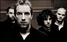 coldplay black and white