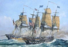USS Constitution vs HMS Guerriere