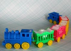 Circus Train Candle Holder