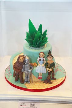 Jan Clement-May's Wizard of Oz Cake