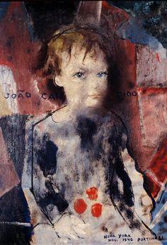 Retrato de João Candido, New York, 1940 by Candido Portinari (Brazilian 1903-1962)