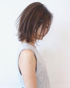 【HAIR】三好 佳奈美さんのヘアスタイルスナップ(ID:405455) Medium Hair Styles, Short Hair Styles, 50 Hair, Japanese Hairstyle, Short Bob Hairstyles, Hair Inspo, Hair And Nails, Fashion Beauty, Stylists