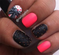 12 Simple 3D Nail Art Designs, Ideas, Trends & Stickers | 3d Nails ...