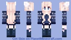 Cotton Candy Bunny Minecraft Skin Minecraft Skins Pinterest - Skin para minecraft pe kawaii