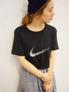 やっぱり欲しいスポーツブランドのTシャツ♡合わせ方は自分スタイルで☆彡