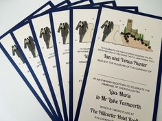 Malcesine Castle Wedding Invitations