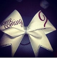Every cheerleader wants to get asked to homecoming(by a football player)