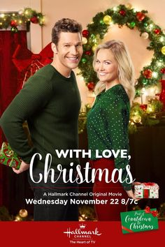 It& a Wonderful Movie -Family & Christmas Movies on TV 2014 – Hallmark Channel, Hallmark Movies & Mysteries, ABCfamily &More! Come watch with us! Hallmark Holiday Movies, Hallmark Weihnachtsfilme, Family Christmas Movies, Hallmark Holidays, Christmas Poster, Family Movies, Christmas Countdown, Christmas 2017, Hallmark Movies 2017
