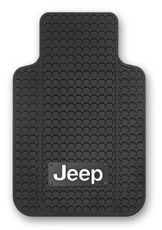 Jeep AntiSkid NIB Backing Floor Mats  Set of 2 -- To view further for this item, visit the image link.