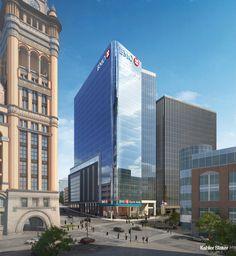 Friday Photos: BMO Tower Gets Glassy » Urban Milwaukee