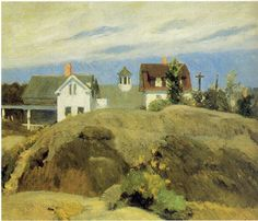 Rocks and Houses, Ogunquit by Edward Hopper