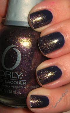 Purple gradient nails #nailpolish