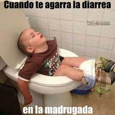 Cuando te agarra en plena madrugada pero puede más el sueño. . #madrugada #sueño #dormir #diarrea #fail #SrElMatador #ElSalvador #sivar . #SrElMatador http://www.srelmatador.com #Foto